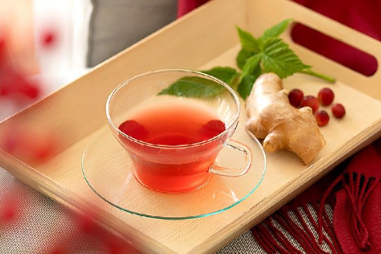 クランベリーしょうが茶